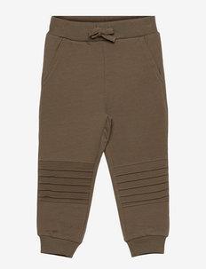 NMMNASOLID SWEAT PANT BRU - joggingbroek - stone gray