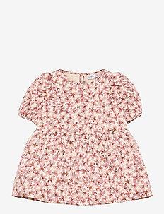 NMFBESTINA QUILTED SS DRESS - kleider - nostalgia rose