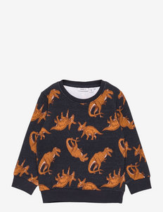 NMMLOKE LS SWEAT UNB - sweatshirts - dark sapphire