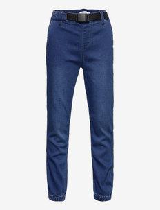 NKMROMEO DNMATHAYERS SWE JOGGER - jeans - dark blue denim