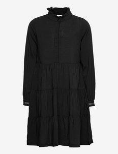 NKFNAGIRA LS DRESS N - kjoler - black