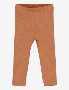 NBFNISTA XSL LEGGING - leggings - caramel caf