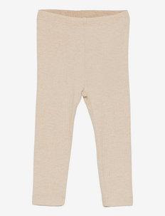 NBFNISTA XSL LEGGING - leggings - peyote melange
