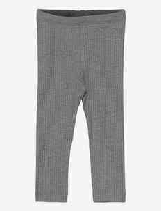 NBMNISTO XSL LEGGING - leggings - iron gate