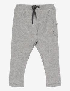 NBMNOTTO PANT - trousers - iron gate