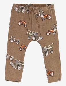 NBMNARIUS PANT - trousers - sepia tint