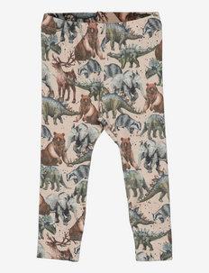 NBMORAIUS XSL LEGGING - leggings - peyote melange