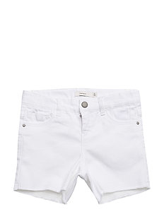 NITTORINA SLIM DNM SHORTS NMT NOOS - WHITE DENIM