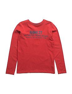 NITDOIL LS TOP M KIDS - POMPEIAN RED