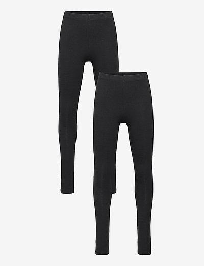 NKFVIVIAN 2P LEGGING NOOS - leggings - black