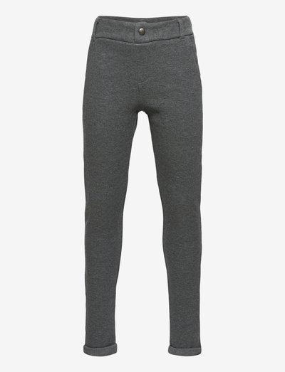 NKMOLSON SWEAT PANT UNB NOOS - jogginghosen - dark grey melange