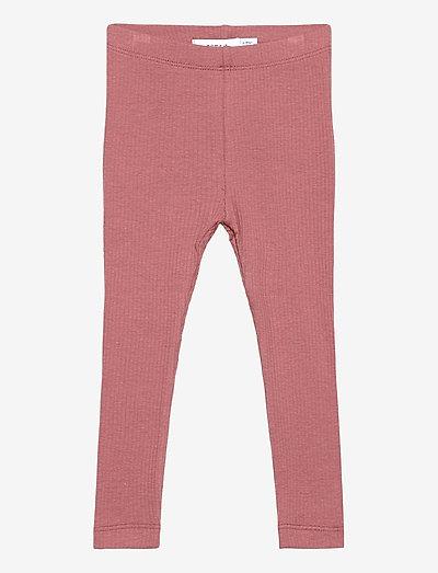 NMFKABEX LEGGING NOOS - leggings - withered rose