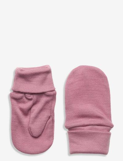NMFWILLIT WOOL MITTENS W/THUMB - hats & gloves - nostalgia rose
