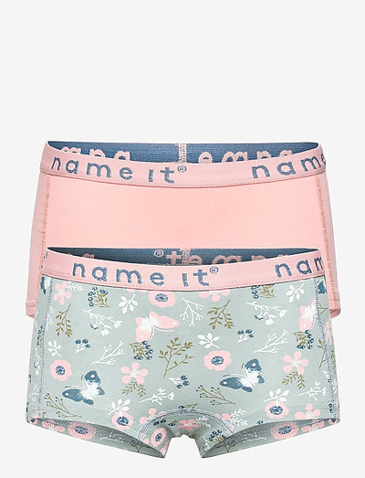 NKFHIPSTER 2P PALE MAUVE FLOWER - ondergoed & nachtkleding - pale mauve