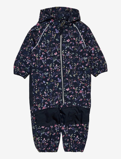 NMFALFA SUIT WILD FLOWER FO - sets & suits - dark sapphire