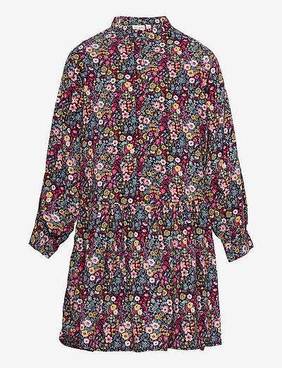 NKFVINAYA LS DRESS - kjoler & nederdele - persian red