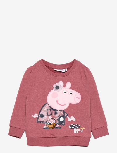 NMFPEPPAPIG FRIGG SWEAT UNB PEP - sweatshirts - deco rose