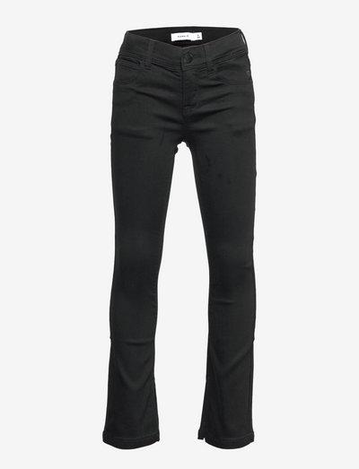 NKFPOLLY DNMTHAYERS 7444 SWE BOOT P - jeans - black denim