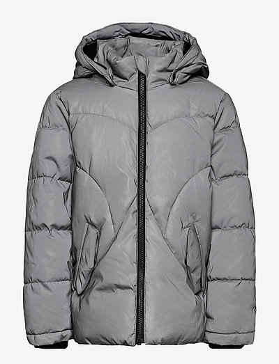 NKFMAYA REFLECTIVE JACKET - daunen- und steppjacken - frost gray