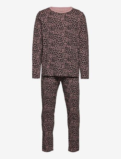 NKFNIGHTSET WOODROSE LEO P - pyjamas - woodrose