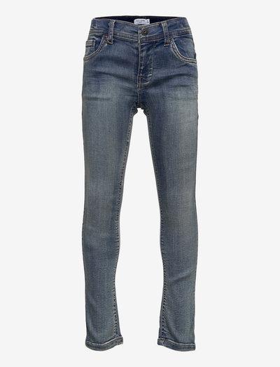 NKMTHEO DNMATHAYERS 26 PANT - jeans - medium blue denim