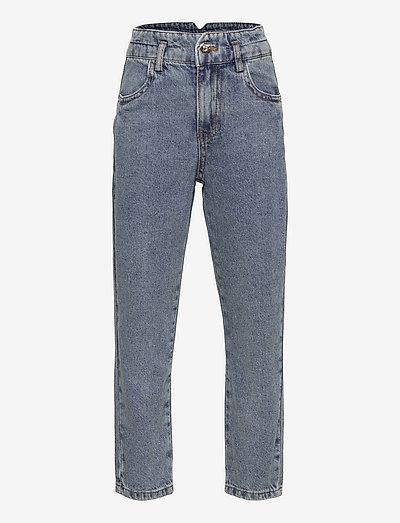 NKFBELLA DNMATAMY HW AN MOM PANT - jeans - light blue denim