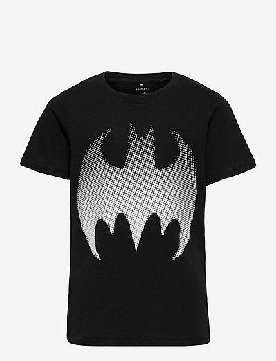 NKMBATMAN WAY SS TOP BOX AA WAB - t-shirts - black