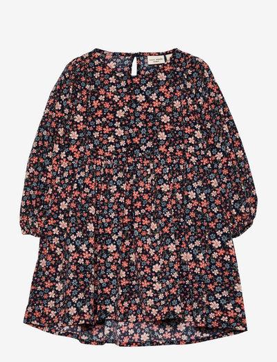 NMFVINAYA LS DRESS N - jurken & rokjes - coral blush