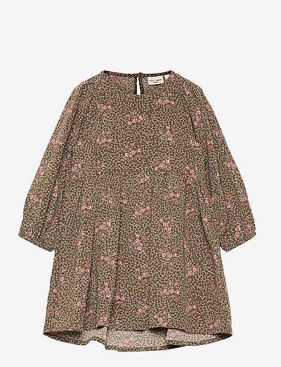 NMFVINAYA LS DRESS N - jurken & rokjes - stone gray