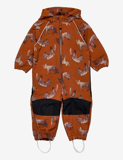 NMMALFA SUIT FOX FO - shell overalls - bombay brown