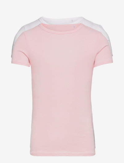 NKFTOP SS SLIM 2P BARELY PINK - kortærmede - barely pink