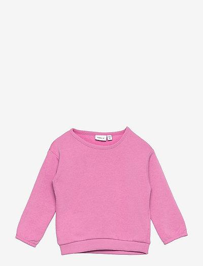 NMFNOTA LS BOXY SWE BRU - sweatshirts - crocus
