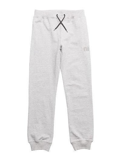 SWEAT KIDS PANT UNBRUSHED R NOOS - GREY MELANGE