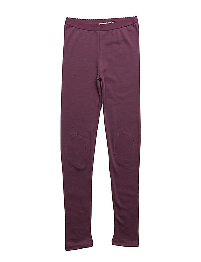 NITWILLITOBU WOOL LEGGING SOL NMT NOOS - PRUNE PURPLE