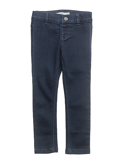 NITTERA SKINNY DNM PANT MINI NOOS - DARK BLUE DENIM