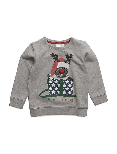 NITFISANTA SWEAT M MINI - GREY MELANGE
