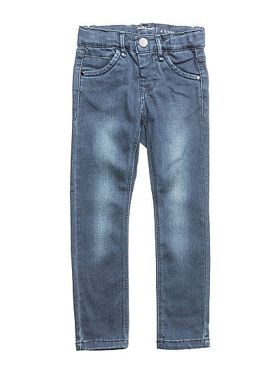 NITTEBA SKINNY DNM PANT MINI NOOS - DARK BLUE DENIM