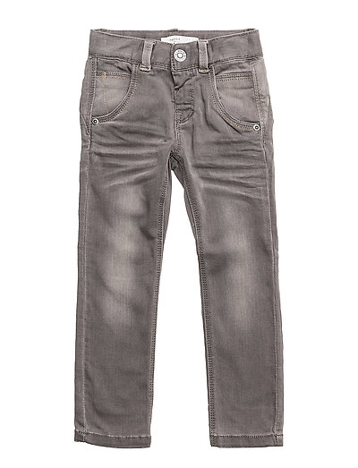 NITTAMO XSL/XSL DNM PANT MINI NOOS - DARK GREY DENIM