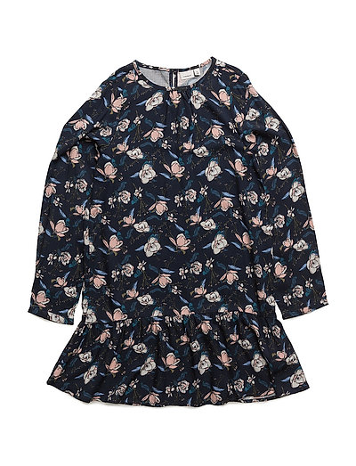 NITJILLO LS DRESS WL F NMT - SKY CAPTAIN
