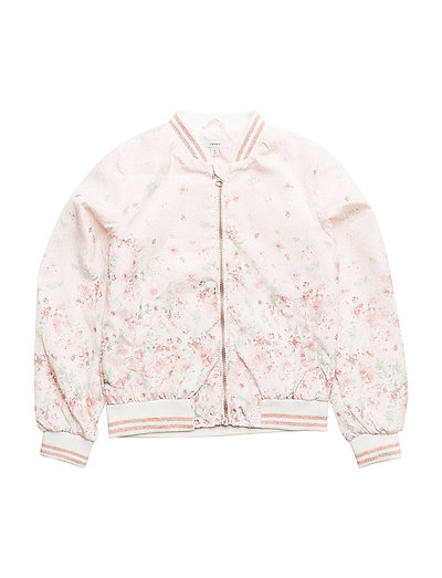 NKFMARINN BOMBER JACKET - SNOW WHITE
