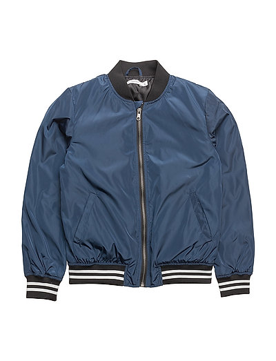 NKMMARTEN BOMBER JACKET - DRESS BLUES