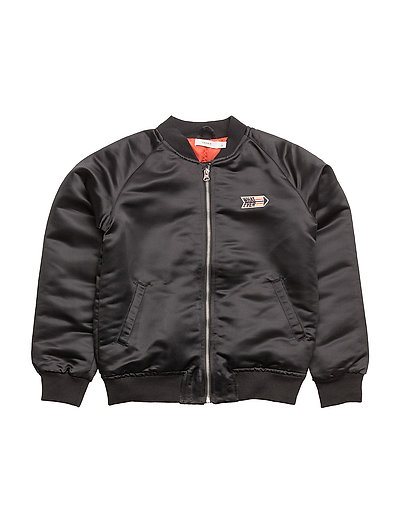 NKMMASH BOMBER JACKET - BLACK