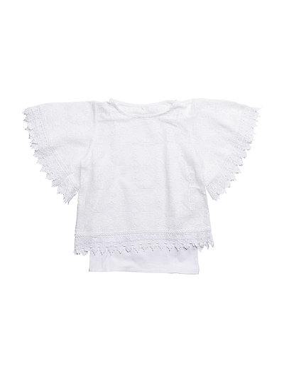 NKFIMANTE SS TOP - BRIGHT WHITE