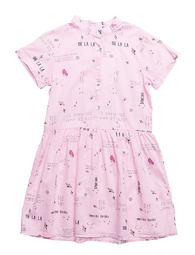 NKFHULLAHOP SS DRESS BOX - DAWN PINK