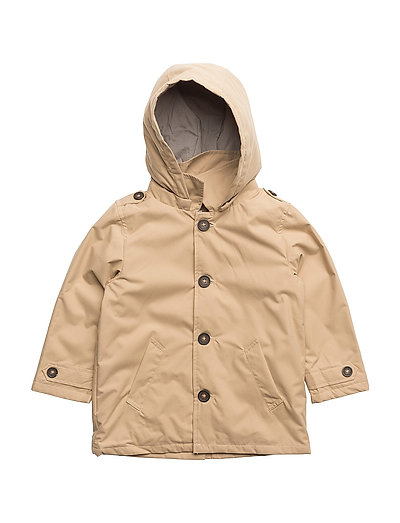 NMMMIKKEL TRENCH COAT - WARM SAND