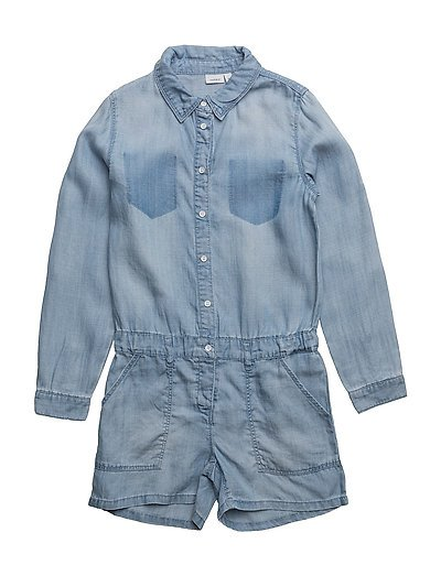NKFBINIE DNM 2030 SUIT - MEDIUM BLUE DENIM