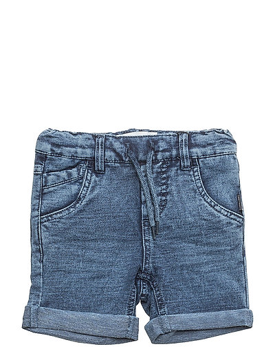 NMMSOFUS DNMBATO 2032 LONG SHORTS NOOS - MEDIUM BLUE DENIM