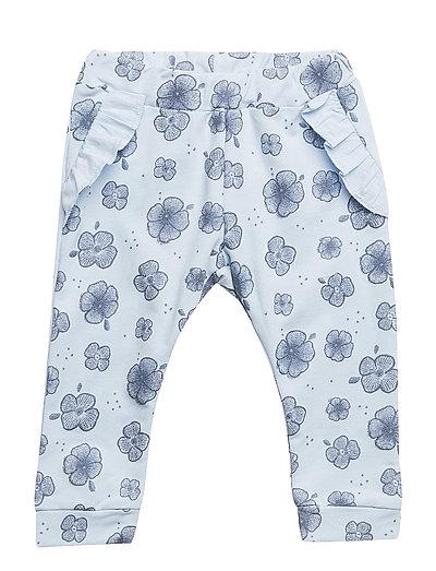 NBFFANORIA SWE PANT UNB - CASHMERE BLUE