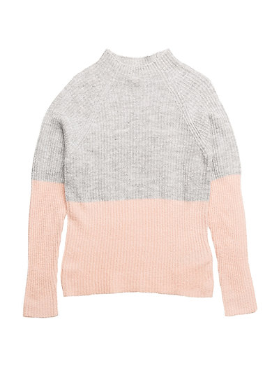 NITHOFIA LS KNIT W. TURTLE NECK F NMT - EVENING SAND
