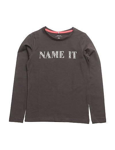 NITDIARY LS TOP F KIDS - BLACK